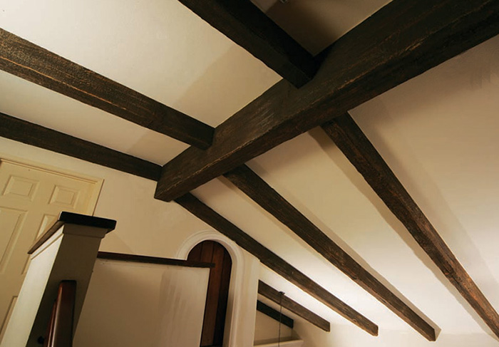 Faux Wood Beams Showcase Beams