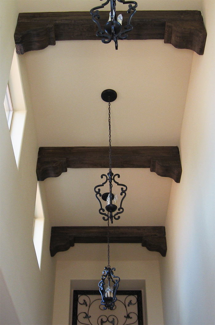 Faux wood beams showcase beams for Where to buy faux wood beams