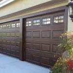 Faux Wood Garage Door